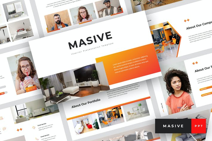 Masive - Interior PowerPoint Template