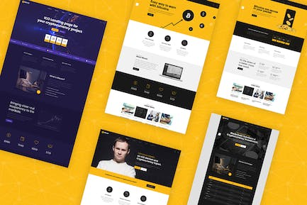 Bomex - Cryptocurrency & Bitcoin HTML Template