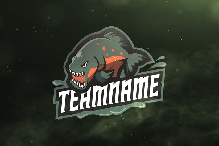 Thumbnail for Piranha Sport and Esport Logos