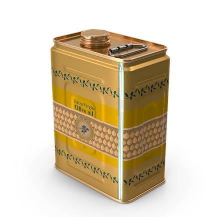 Lata de aceite de oliva de 2 litros