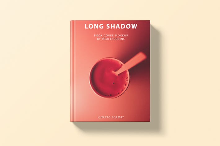 Long Shadow Book Cover Mockup