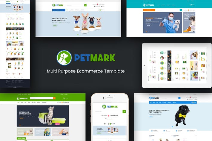 Thumbnail for PetMark - Pet Care, Shop & Veterinary Magento 2