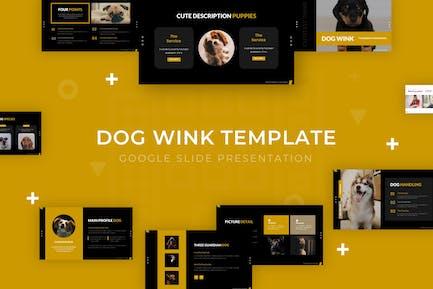 Dog Wink - Google Slide Template