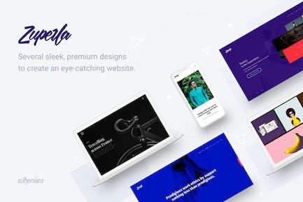 Zuperla - Creative Multipurpose WordPress theme