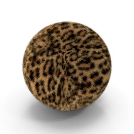Pelota de piel de leopardo