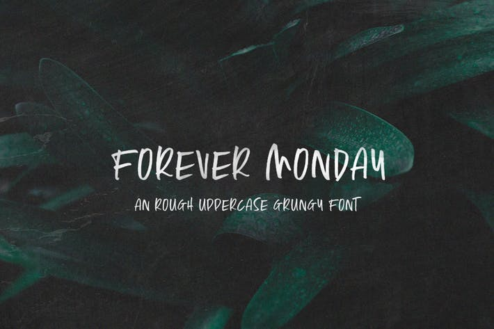 Thumbnail for Forever Monday Font