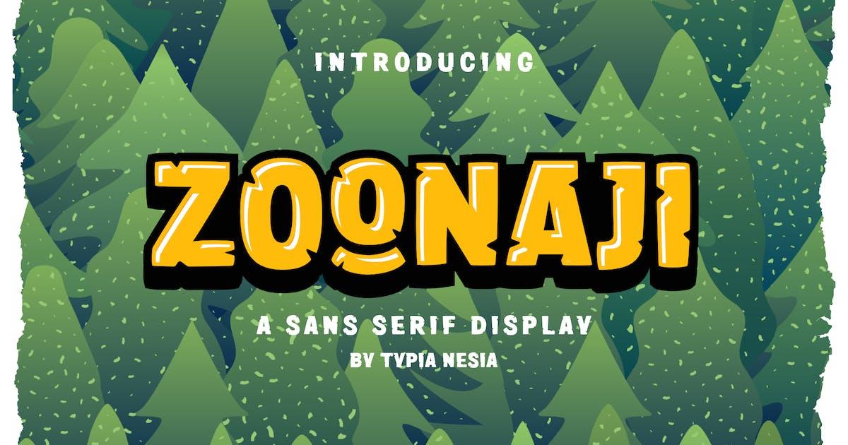 Download Zoonaji Sans Display by yipianesia