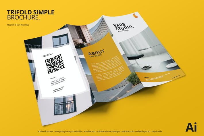 Cover Image For Simple Tri Fold Brochure