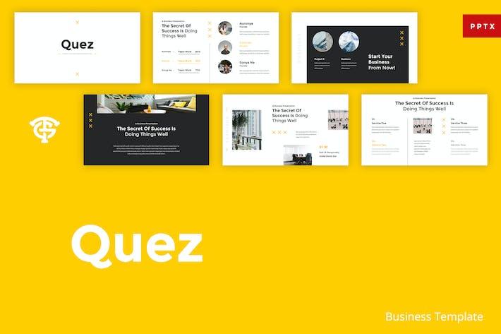 Thumbnail for Quez Business - Powerpoint