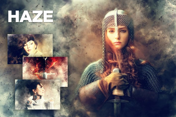 Thumbnail for Haze Photoshop Action CS4+