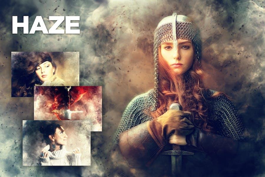 Haze Photoshop Action CS4+