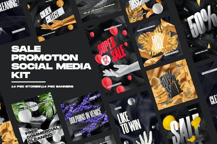 Thumbnail for Sale Promotion Social Media Kit