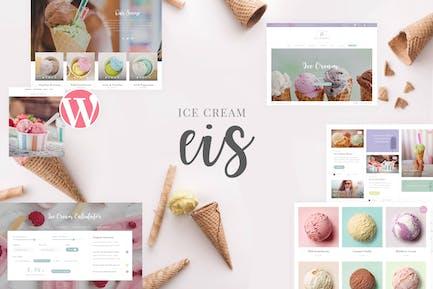Eis - Ice Cream Shop WordPress Theme