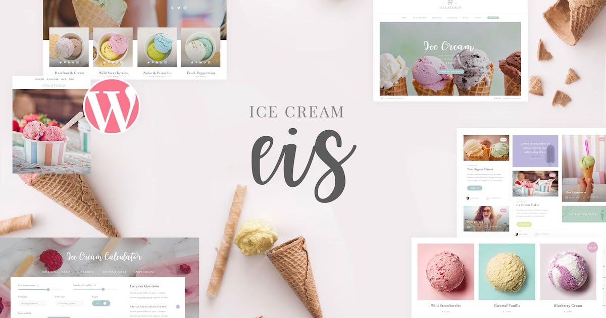 Download Eis - Ice Cream Shop WordPress Theme by planet-themes