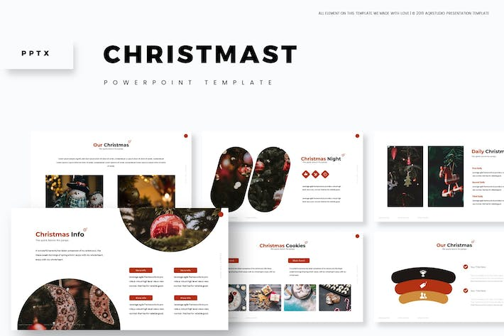 Thumbnail for Christmas - Powerpoint Template