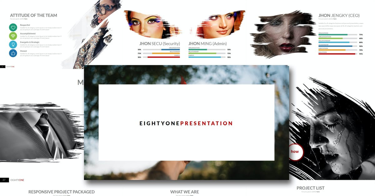 Download Eighty One - Keynote Template by Artmonk