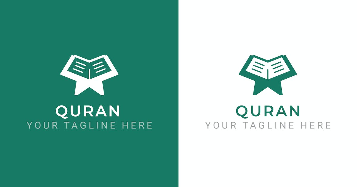 Download Quran - Religion Logo Template by ThemeWisdom
