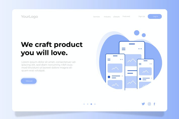 Thumbnail for Craft Product - Banner & Landing Page