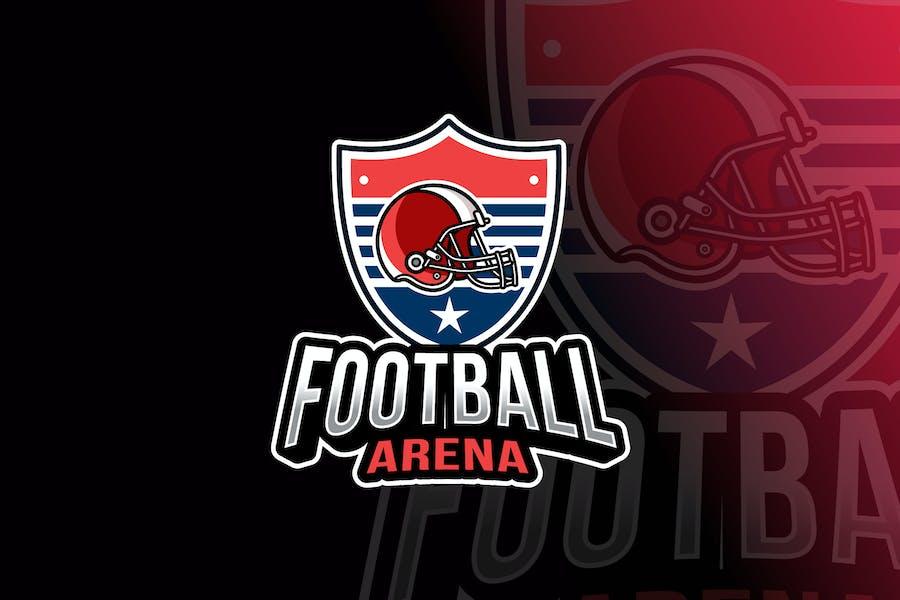 Football Arena Logo Template