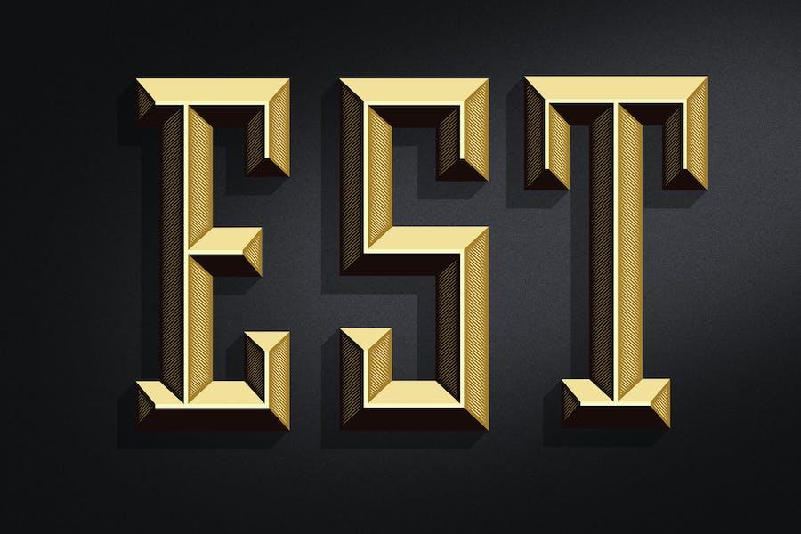 CESARE Typeface