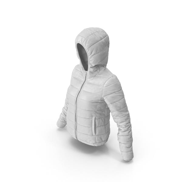 Thumbnail for Women's Down Jacket White