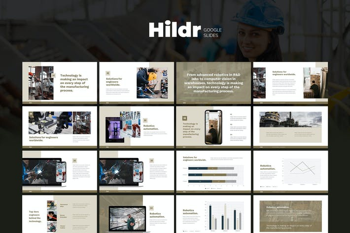 Thumbnail for HILDR - Architecture & Construction Google Slides