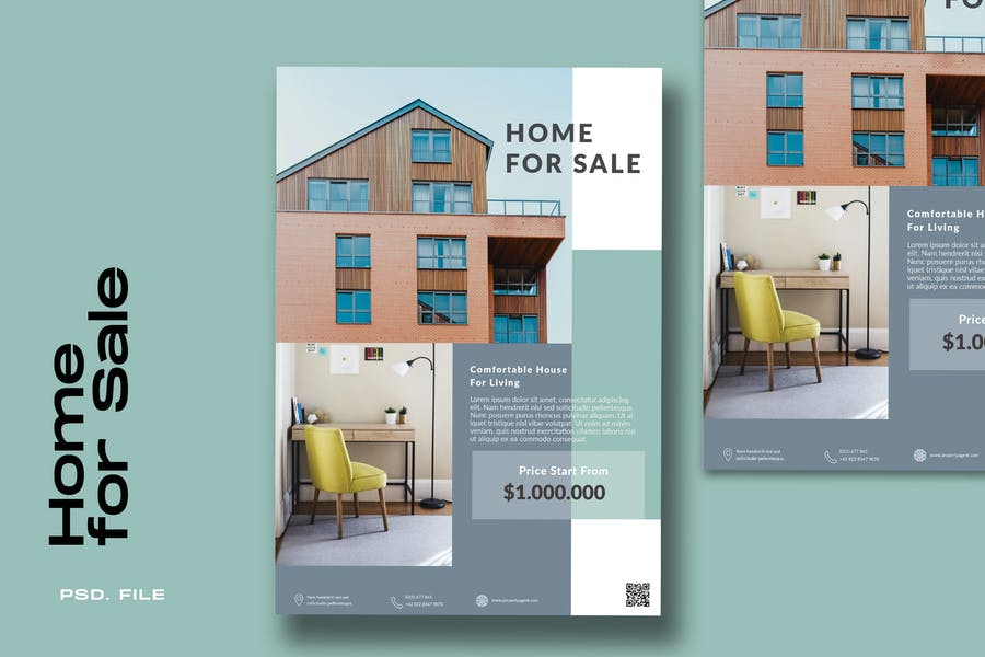 Home Property flyer