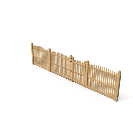 Traditional Fencing Palisade Pointed Pales