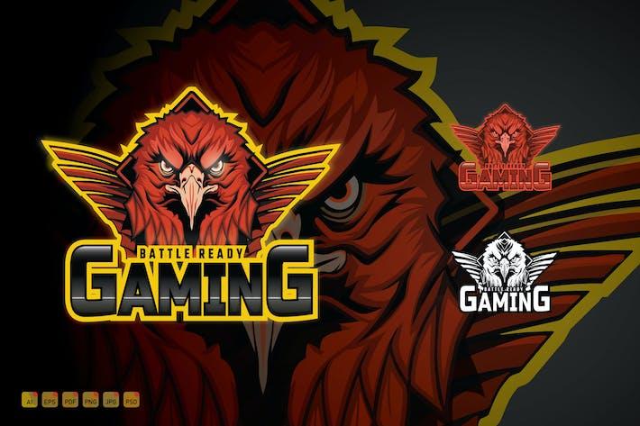 Thumbnail for Esports Team Gaming Logo - Battle Ready