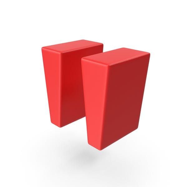 Red Quote Symbol