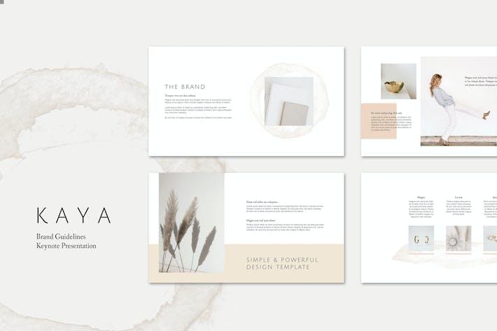 Thumbnail for Guía de Keynote marca KAYA