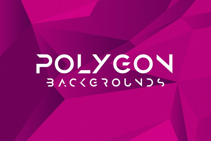 Cover Image For Abstract Polygon Backgrounds