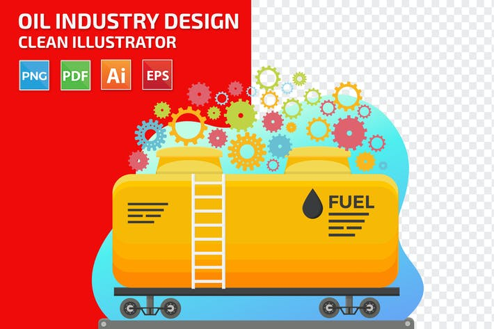Thumbnail for Oil Industry Design