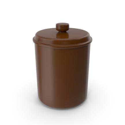 Brown Jar