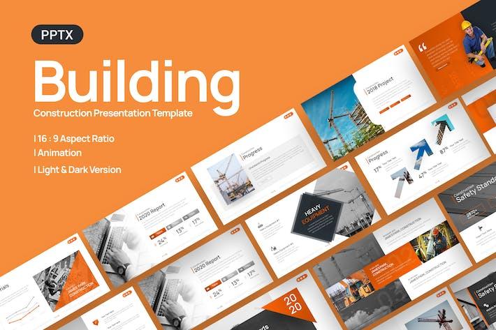Шаблон презентации конструкции здания