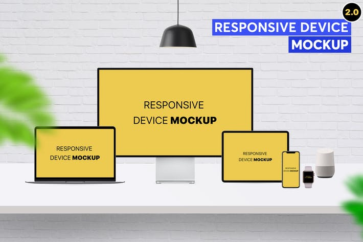 Thumbnail for Responsive Device Mockup 2.0
