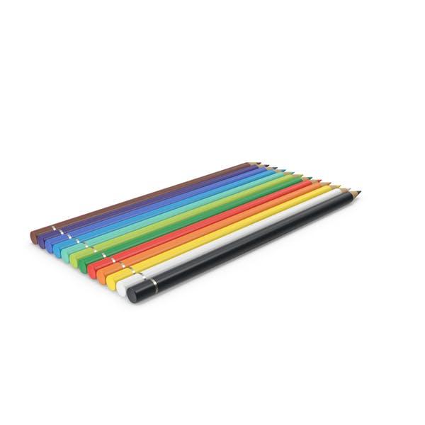 12 цветных карандашей