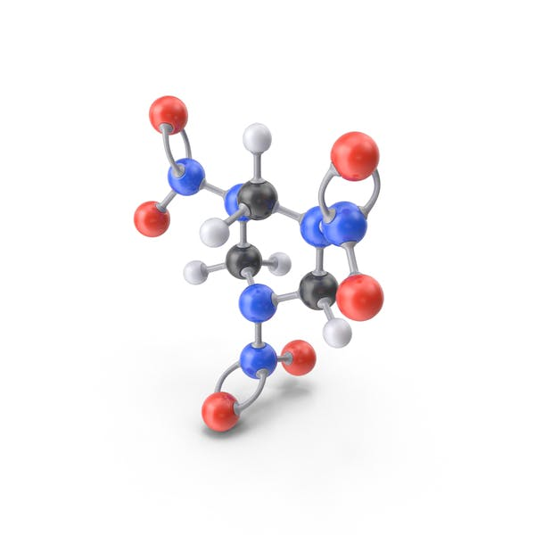 Cover Image for RDX Molecule