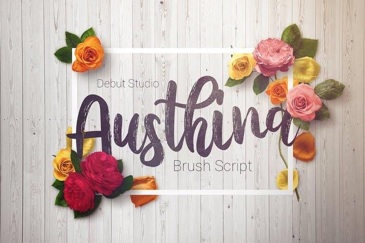 Thumbnail for Austhina Brush Script