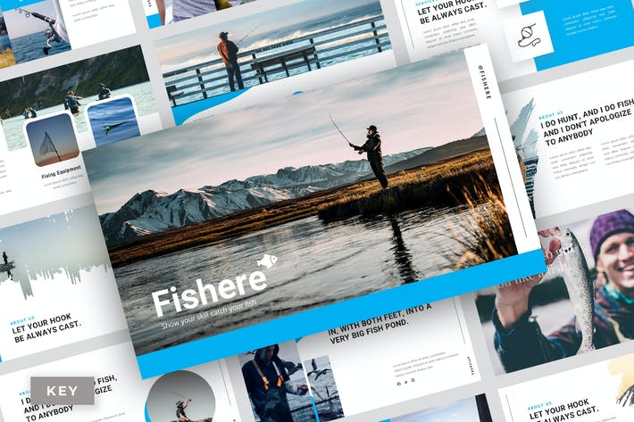 Thumbnail for Pisher - Keynote Template
