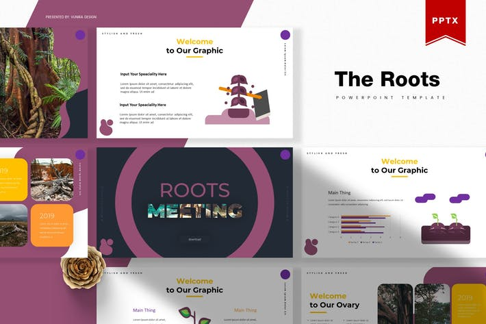Thumbnail for The Roots | Powerpoint Template