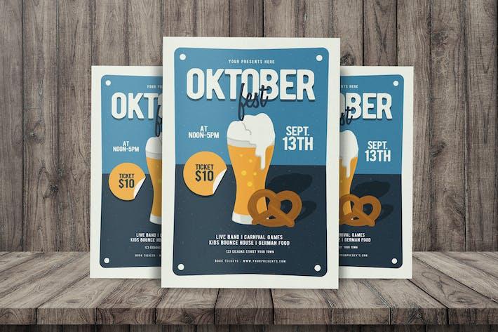 Thumbnail for Folleto del Oktoberfest