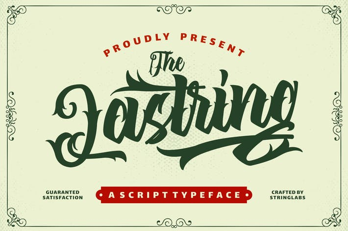 Thumbnail for The Lastring - Tattoo Script Police
