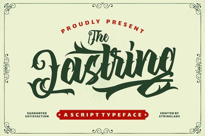 Thumbnail for The Lastring - Tattoo Script Font