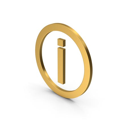Symbol Inverted Exclamation Mark Gold