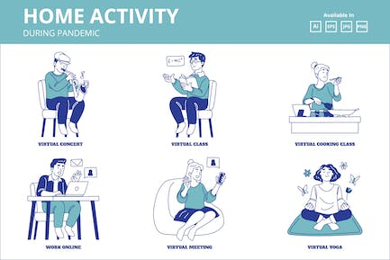 Home Activity during Corona Pandemic