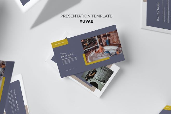 Yuvae : Luxury Lifestyle Lookbook Google Slides