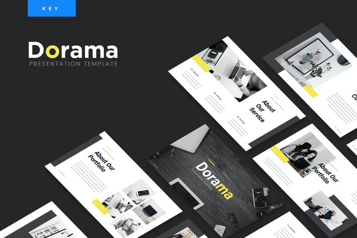 Thumbnail for Dorama - Corporate Keynote Presentation Template