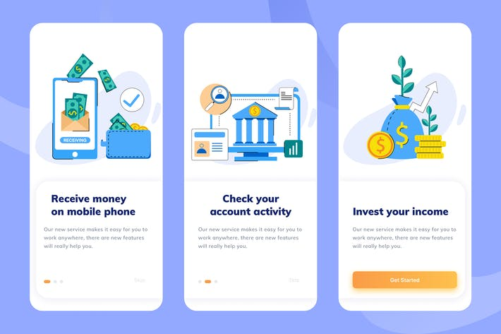 Thumbnail for Payment Service Mobile Onboarding 2