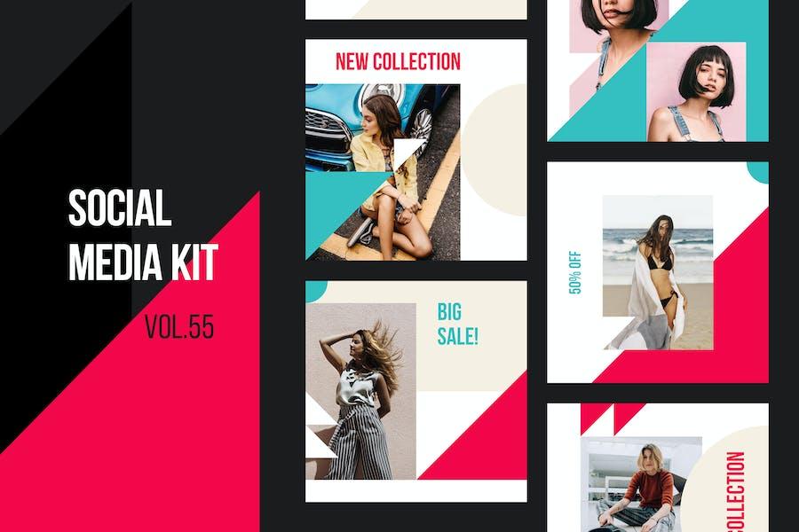 Social Media Kit (Vol.55)
